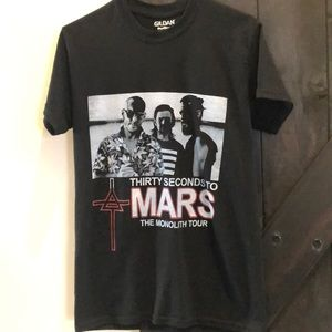 Thirty Seconds To Mars Concert Shirt men's small